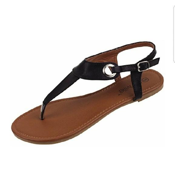 1ccf549ad Star Bay black Gladiator Sandals. M 5b28504f8ad2f94782fc2818